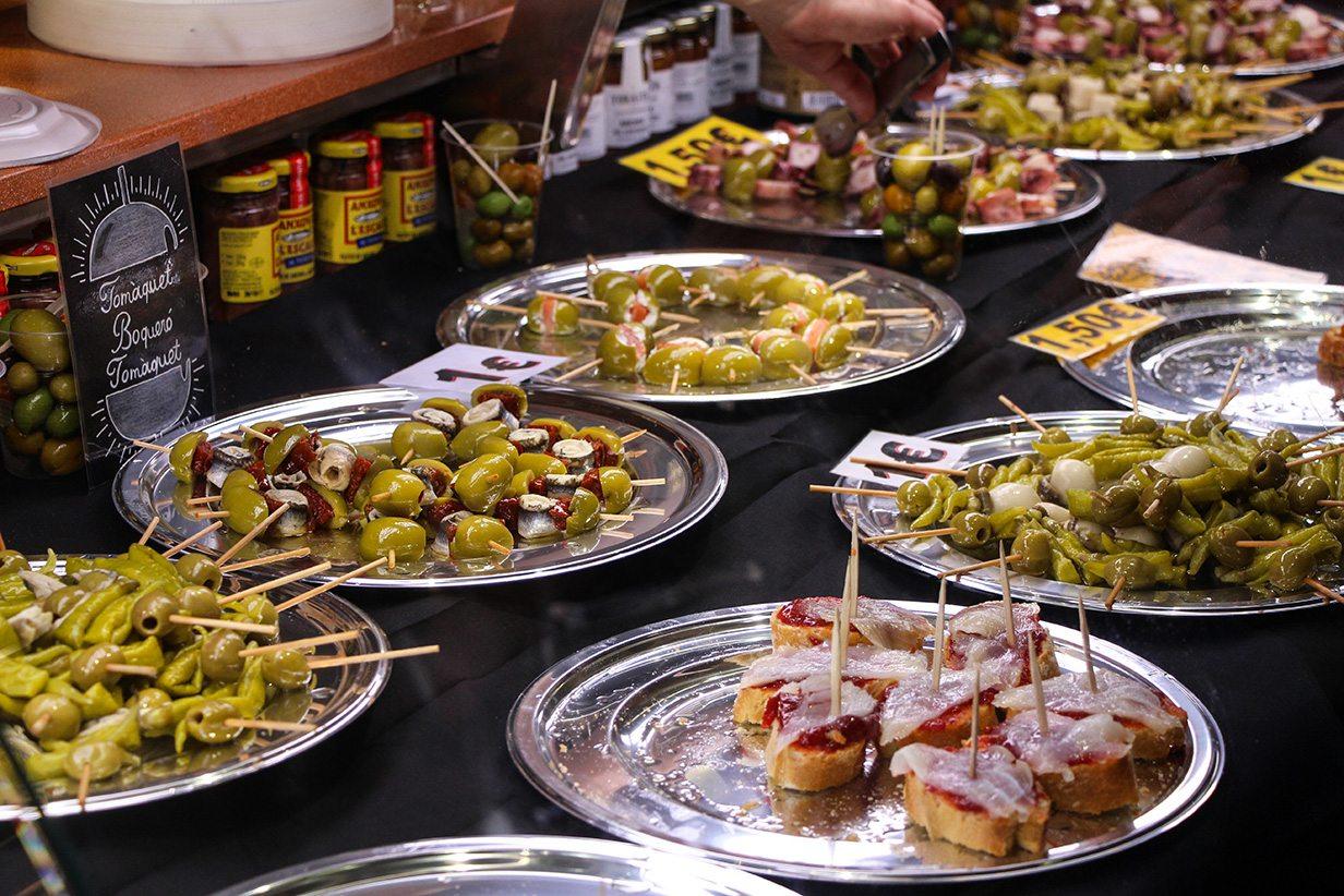 Nit de Mercats Gastronomía