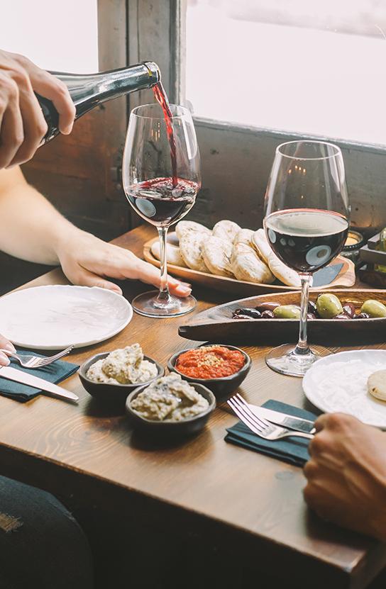 Restaurantes PSWorks Comida y Vino
