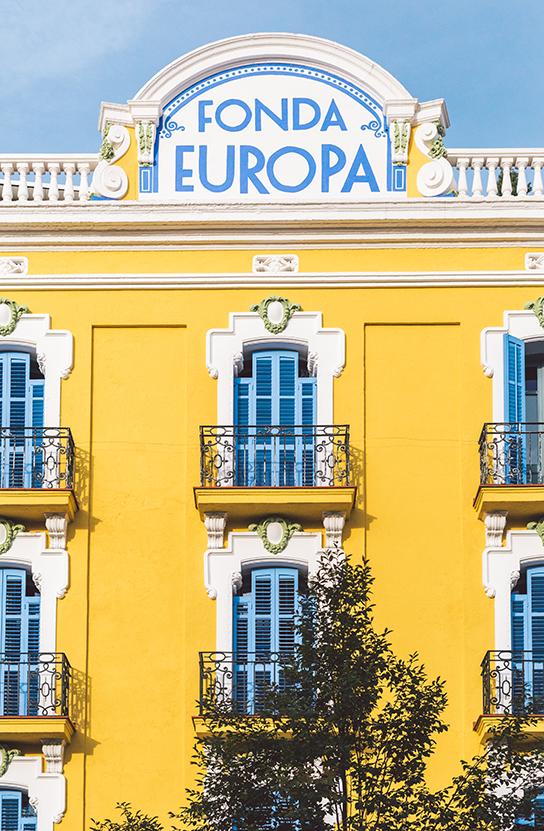 Restaurantes PSWorks Fonda Europa