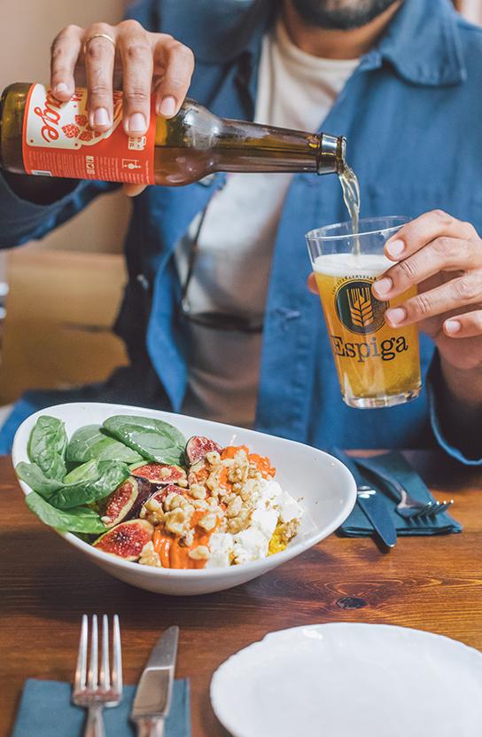 Restaurantes PSWorks Cerveza y Comida Healthy