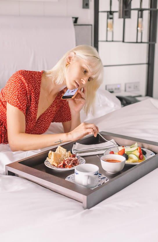 Seventy Hotel Barcelona Desayuno