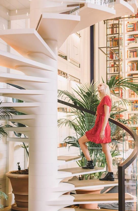 Seventy Hotel Barcelona Recepción