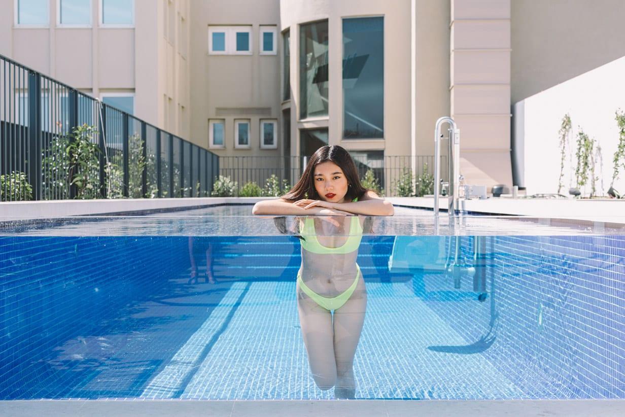 Hotel Seventy Barcelona Piscina Influencer