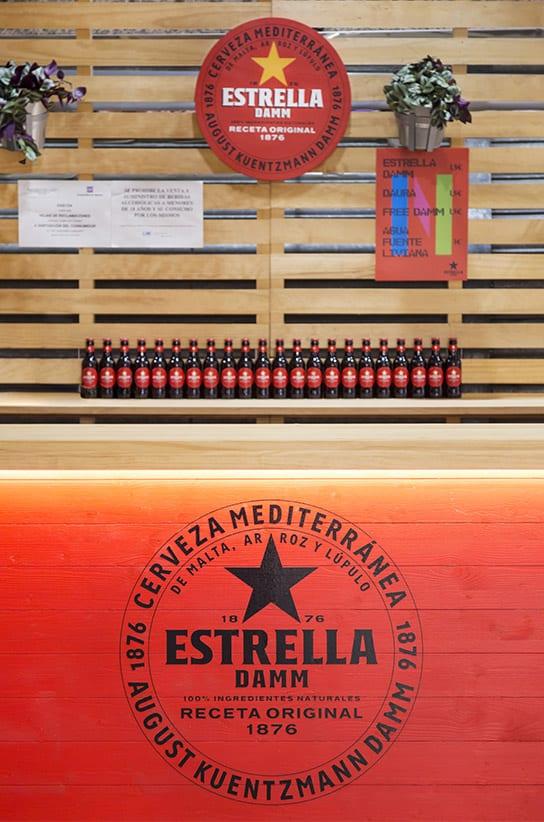 Mercados Estrella Damm Barra